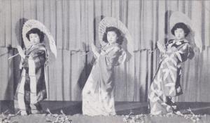 Danicing girls , Japan, 1940s