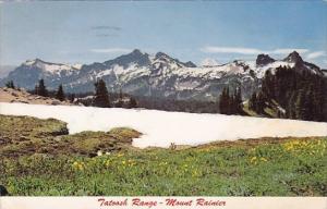 Tatoosh Range Mount Rainier Washington 1968