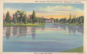 Camden Park And Bath House, Minneapolis, Minnesota, 30-40s