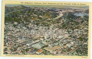 Linen Air View of Hollywood California CA