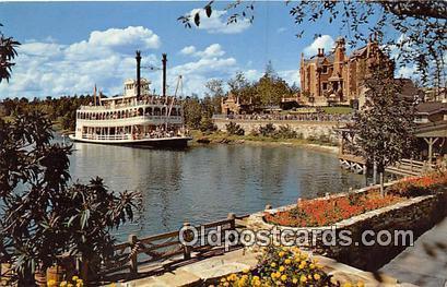 Cruising the Rivers, Admiral Joe Fowler Walt Disney World, FL, USA Postcard P...