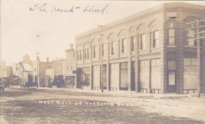 RP: West Main Street (dirt) , WEYBURN, Saskatchwan , Canada , 00-10s