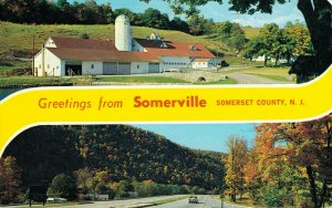 USA New Jersey Somerset County Greetings from Somerville 04.29