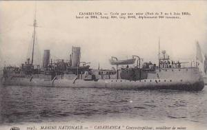 Casablanca , Morocco , 00-10s ; Contre-torpilleur, mouilleur de mines