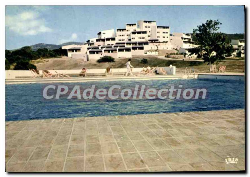 Postcard Modern Charm And Colors Of Corsica Cargese Village Holiday Club Medi...