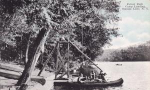 OQUAGA LAKE, New York, 00-10s; Forest Park, Camp Landing