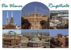 Die Wiener Ringstrasse Votivkirche Rathaus Parlament Burgtheater Staatsoper