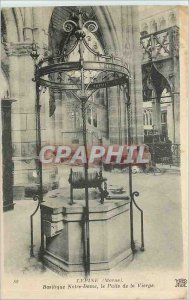 Old Postcard The thorn Marne Basilica of Our Lady the Virgin's Well