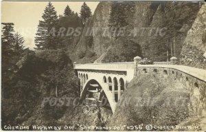 Shepherds Dell on Columbia Highway Oregon RPPC Vintage Real Photograph Postcard