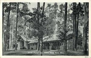 Forest Inn Itasca State Park Minnesota MN 1958 White Border