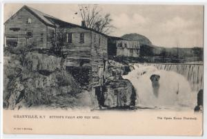 Button's Falls & Old Mill, Granville NY