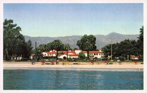 Santa Barbara Biltmore Hotel, Montecito, California, Early Postcard, Unused