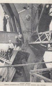 QUEBEC , Canada , 1900-10s ; Quebec Bridge Construction #1