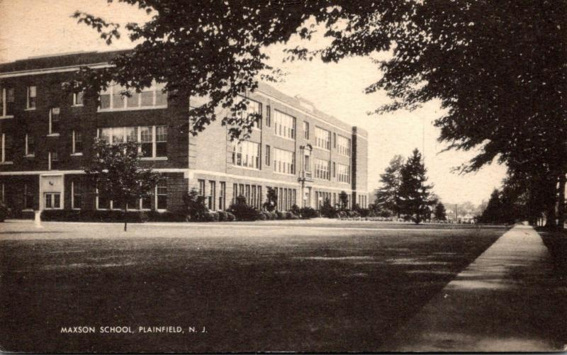 Maxon School Plainfield New Jersey 1944
