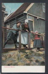 Netherlands Postcard - Children - Dutch Costumes / Dress - Costuum Marken T10174