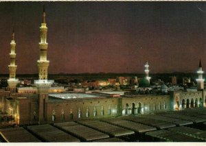 PC CPA SAUDI ARABIA, HOLY MOSQUE AT DAWN, MECCA, Modern Postcard (b22473)