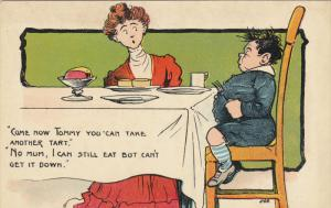 Tommy comic , at the table , 00-10s