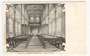 Seminaire de BONNE-ESPERANCE.- Salle d'etudes, Belgium, 1890s