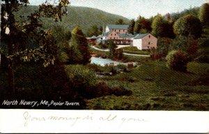Maine North Newry The Poplar Tavern 1907