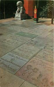 CA, Hollywood, California, Grauman's Theatre, Footprints of the Stars