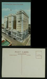 CPR Palliser Hotel Calgary Alberta c 1930  TRIMMED FAULT