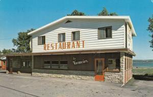 ST-JEAN, ILE D'ORLEANS, Quebec, Canada, 1987 ; Le Vacancier Enr. Restaurant