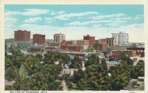 MUSKOGEE , Oklahoma, 1910s ; Skyline