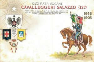 Italy QUO Fata Vocant Cavalleggeri Saluzzo 12° 04.30
