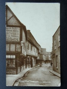 Kent SANDWICH Strand Street BAKERY & TEA ROOMS c1918 RP Postcard by H. Bros