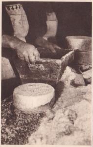 France Roquefort Salage A leur arrivee en cave