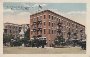 ST PETERSBURG , Florida , 1918 ; Hotel Detroit