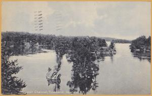 Thousand Islands, New York, Lost Channel - 1910