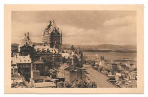 Canada Chateau Frontenac St Lawrence Vtg Jackie Postcard