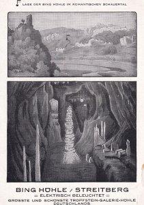 2 Views, Bing Hohle/ Streitberg, Elektrish Beleuchtet, Frankische Schweiz, Ge...