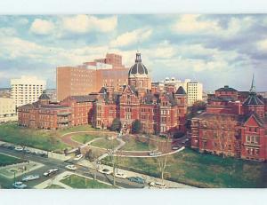 Unused Pre-1980 HOSPITAL SCENE Baltimore Maryland MD W2588