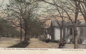 PHILADELPHIA , Pennsylvania , 00-10s ; Fairmount Park , Boat House Row , Schu...