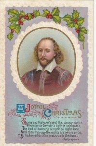 Portrait of Shakespeare, 1911; A Joyful Christmas, poem