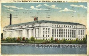 Bureau of Printing and Engraving, District Of Columbia