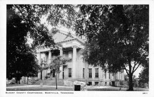 Maryville Tennessee Court House Vintage Postcard JD933884