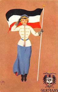 German, Foreign Girl Series, St John Unused