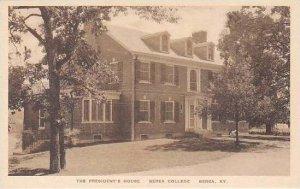Kansas Berea Presidents House Berea College Albertype
