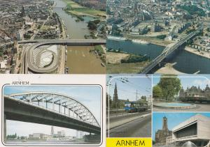 Arnhem Roermondspleinbrug Motorway Dutch Transport 4x Postcard s