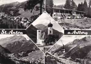 Austria St Anton Am Arlberg 1965 Real Photo