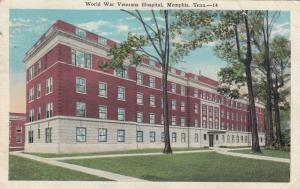 MEMPHIS , Tenn. , 1910-30s ; World War Veterans Hospital