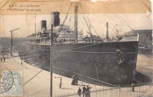 BF37171 la provence en cale seche  le havre france  Boat Ship Bateaux