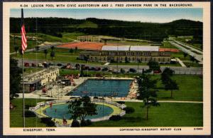 Legion Pool,Civic Auditorium,J Fred Johnson Park,Kingsport,TN