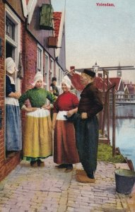 VOLENDAM, Netherlands, 1900-10s; Neighbourhood Scene