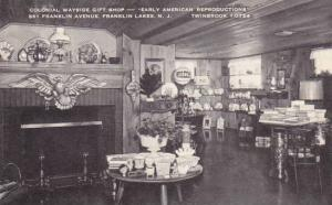 New Jersey Franklin Lakes Colonial Wayside Gift Shop Early American Reproduct...