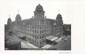 Grand Central Depot, Manhattan, N.Y. City, Early Postcard, Unused