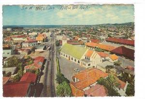 Aerial View on St. Nicolas, Aruba, Netherlands Antilles, 50-70s